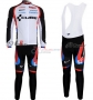 Cube Cycling Jersey Kit Long Sleeve 2011 Black And White