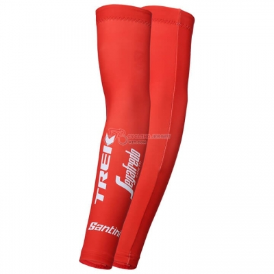 2018 Trek Segafredo Leg Warmer Red
