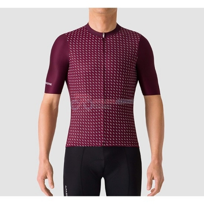 La Passione Cycling Jersey Kit Short Sleeve 2019 Red