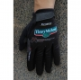 2020 Europcar Long Finger Gloves Black