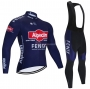 Alpecin Fenix Cycling Jersey Kit Long Sleeve 2021 Deep Blue