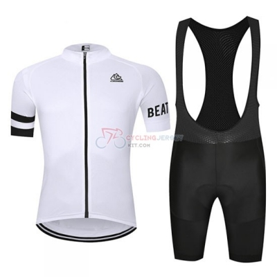 Chomir Cycling Jersey Kit Short Sleeve 2019 White
