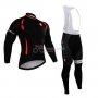 Castelli Cycling Jersey Kit Long Sleeve 2015 Red