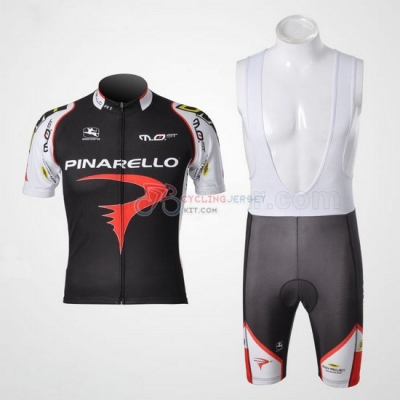 Pinarello Cycling Jersey Kit Short Sleeve 2010 Black And Red