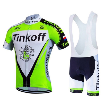 Tinkoff Cycling Jersey Kit Short Sleeve 2017 yellow