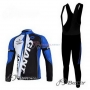 Giant Cycling Jersey Kit Long Sleeve 2011 Blue And Black