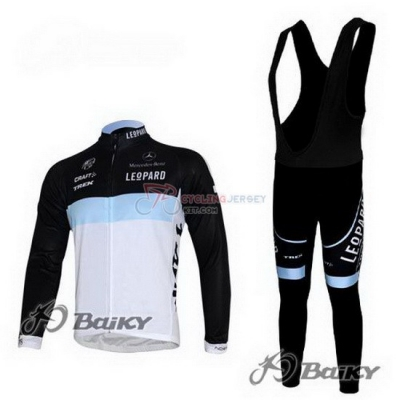 Lampre Cycling Jersey Kit Long Sleeve 2012 Black And White
