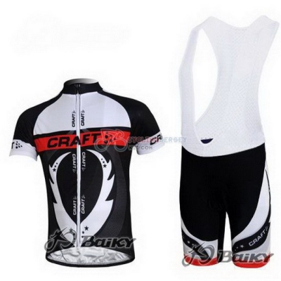 Craft Cycling Jersey Kit Short Sleeve 2011 Black And White