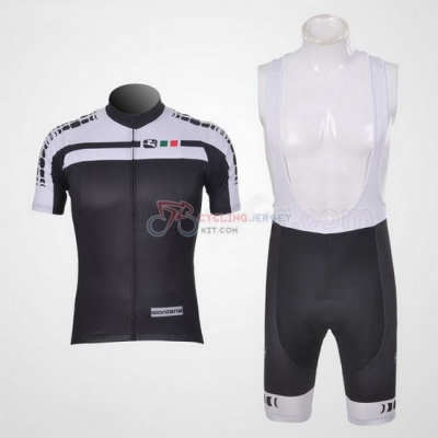 Giordana Cycling Jersey Kit Short Sleeve 2012 White And Black