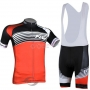 Northwave Cycling Jersey Kit Short Sleeve 2014 Black And Orange