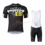 Scott Cycling Jersey Kit Short Sleeve 2016 Black And Yellow