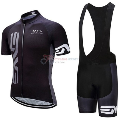 DNA Cycling Jersey Kit Short Sleeve 2019 Black