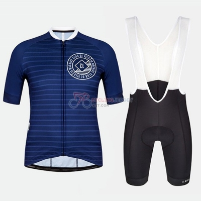Machine Club Cycling Jersey Kit Short Sleeve 2018 Blue