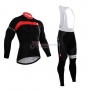Castelli Cycling Jersey Kit Long Sleeve 2015 Red And Black