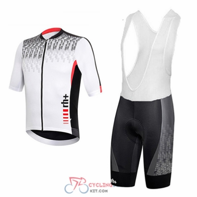 2017 RH+ Cycling Jersey Kit Short Sleeve gray and white