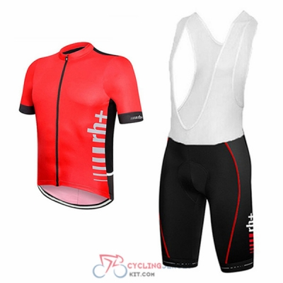 2017 RH+ Cycling Jersey Kit Short Sleeve red