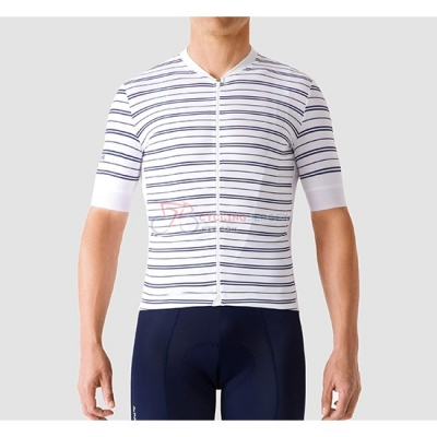 La Passione Cycling Jersey Kit Short Sleeve 2019 Stripe White