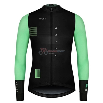 NDLSS Cycling Jersey Kit Long Sleeve 2020 Black Green