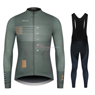 NDLSS Cycling Jersey Kit Long Sleeve 2020 Gray