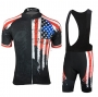 USA Cycling Jersey Kit Short Sleeve 2021 Black