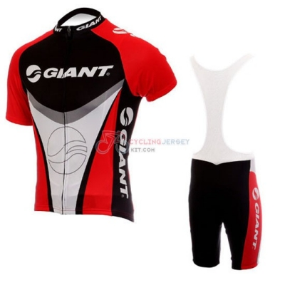 Giant Cycling Jersey Kit Short Sleeve 2010 Black And Red