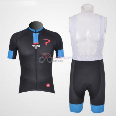 Pinarello Cycling Jersey Kit Short Sleeve 2011 Blue And Black