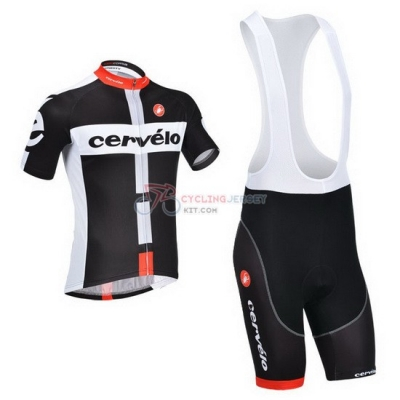 Cervelo Cycling Jersey Kit Short Sleeve 2013 White And Black