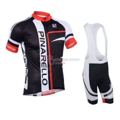 Pinarello Cycling Jersey Kit Short Sleeve 2013 Red And Black