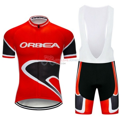 Orbea Cycling Jersey Kit Short Sleeve 2019 Red Black