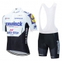 Deceuninck Quick Step Cycling Jersey Kit Short Sleeve 2020 White Black