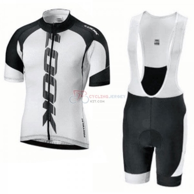 Look Cycling Jersey Kit Short Sleeve 2018 Black White