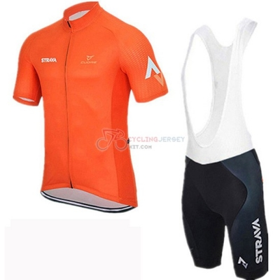 Rally Cycling Jersey Kit Short Sleeve 2019 Orange