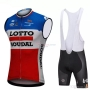 Wind Vest 2018 Lotto Soudal Blue and Red