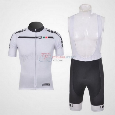 Giordana Cycling Jersey Kit Short Sleeve 2011 White