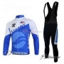 Giant Cycling Jersey Kit Long Sleeve 2011 Blue And White