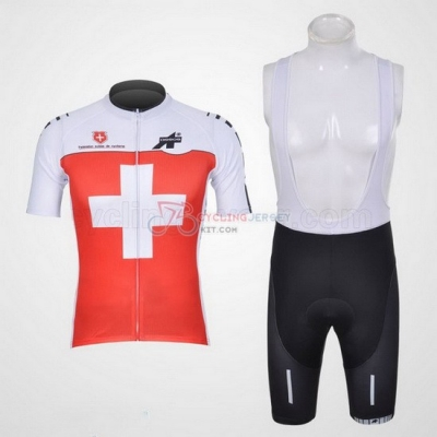 Assos Cycling Jersey Kit Short Sleeve 2011 White And Red