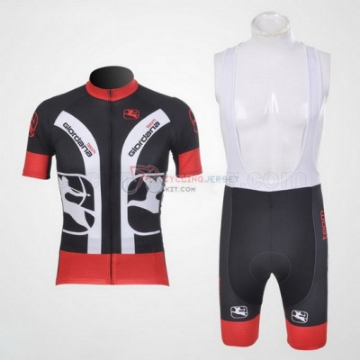 Giordana Cycling Jersey Kit Short Sleeve 2011 Red And Black