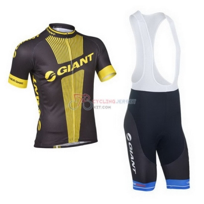 Giant Cycling Jersey Kit Short Sleeve 2013 Black And Yellow