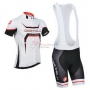 Castelli Cycling Jersey Kit Short Sleeve 2014 White And Black