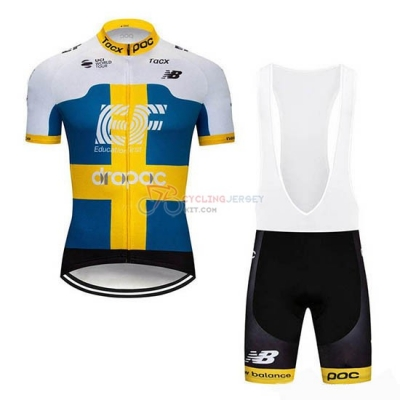 EF Education First Cycling Jersey Kit Short Sleeve 2019 Campione Sweden