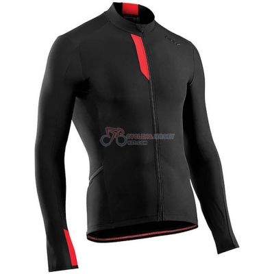 Northwave Cycling Jersey Kit Long Sleeve Black Red