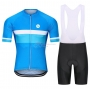Steep Cycling Jersey Kit Short Sleeve 2021 Blue