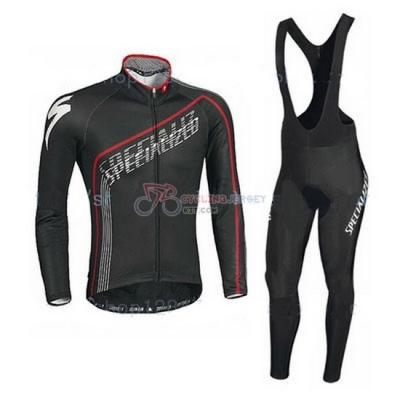 Specialized Cycling Jersey Kit Long Sleeve 2016 Black